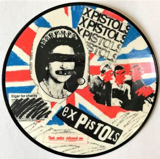 "Ex Pistols (The) - Land Of Hope & Glory 7"") (Picture Disc) (VG/NM)"